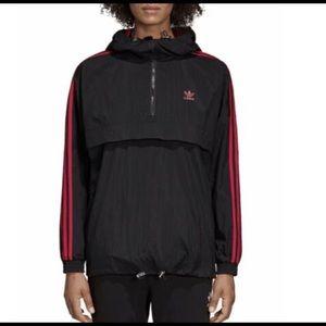 NWT Adidas Women's Black Windbreaker Jacket